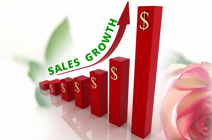 How to increase online flower shop sales by 55.5%